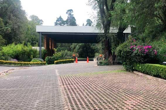 Banquetes Escoffier Venue Hacienda del Pedregal vista general del salón