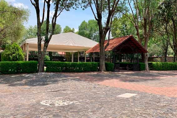 jardines y salones para eventos, Hacienda del Río Escoffier Banquetes vista general