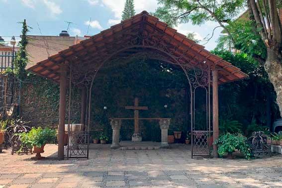jardines y salones para eventos, Hacienda del Río Escoffier Banquetes capilla