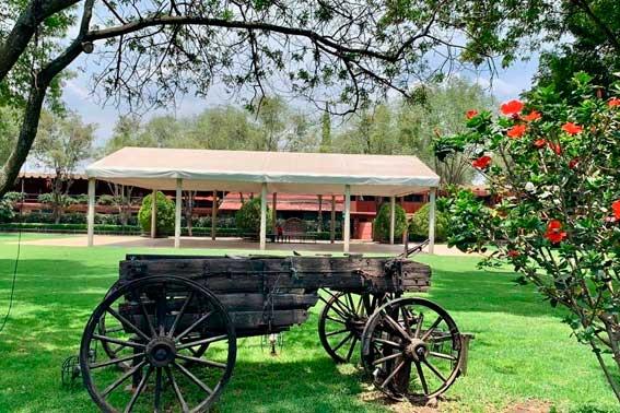 jardines y salones para eventos, Hacienda del Río Escoffier Banquetes