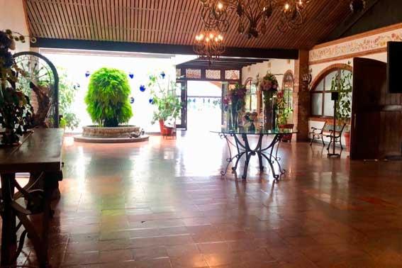 Venue Banquetes Escoffier, Hacienda San Andrés corredor principal