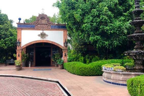 Venue Banquetes Escoffier, Hacienda San Andrés entrada