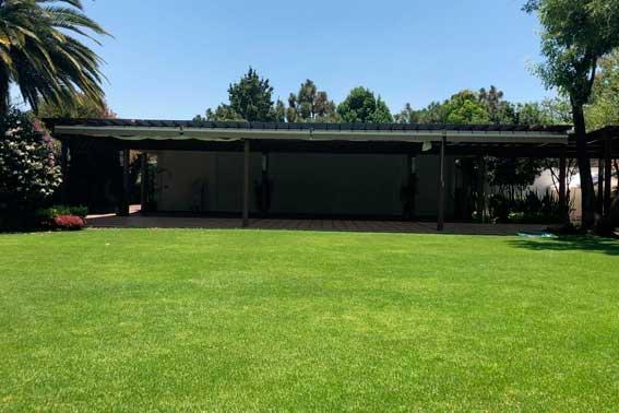 Venue Banquetes escoffier. Jardín Azteca vista abierta del salón