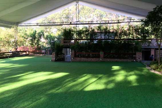 Banquetes Escoffier venue Jardín Tekal interior
