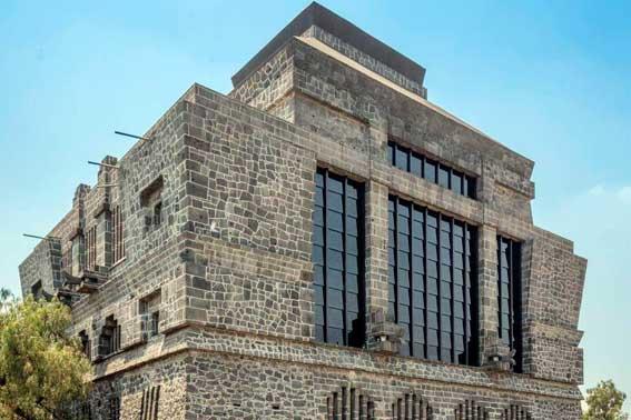 Banquetes Escoffier Venue Museo Anahuacalli vista de la construcción