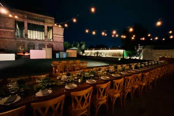 Banquetes Escoffier Venue Museo Anahuacalli montaje de gala