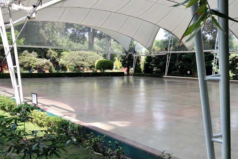 Jardines y salones para eventos Escoffier vista general de Hacienda San Fernando