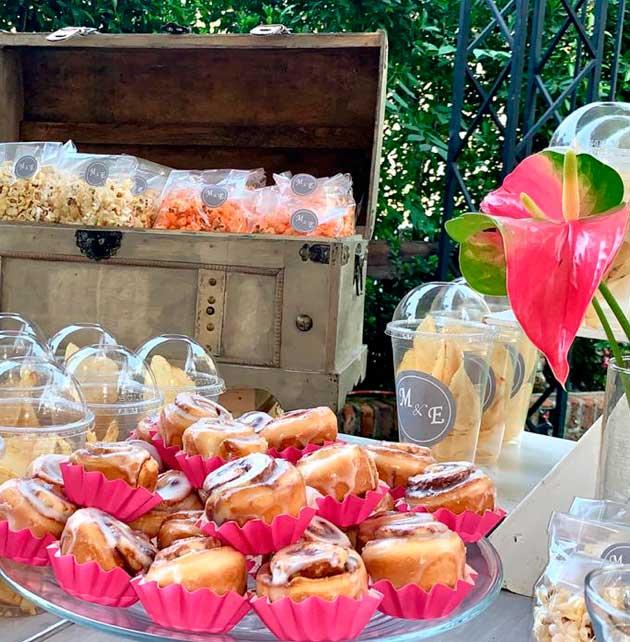 Mesa de dulces banquetes escoffier cdmx