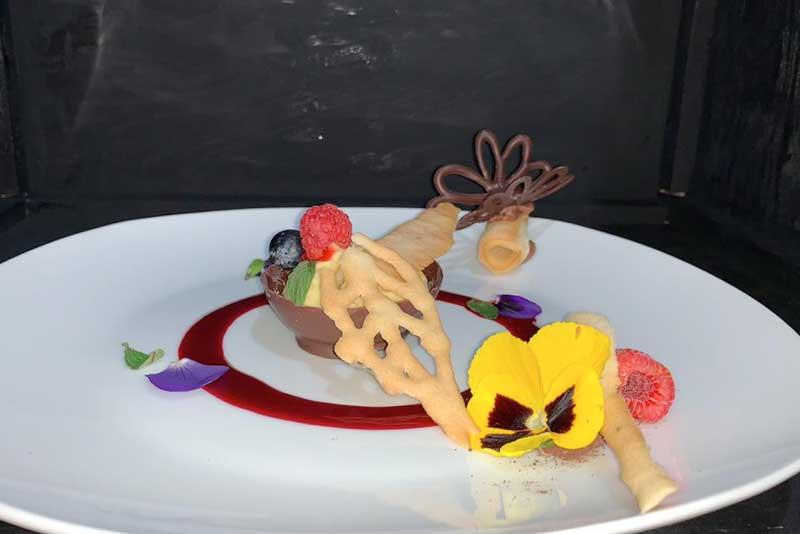 Banquetes Escoffier platillo 2