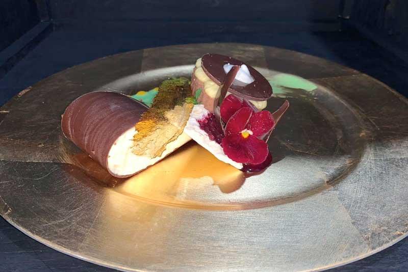 Banquetes Escoffier platillo 1