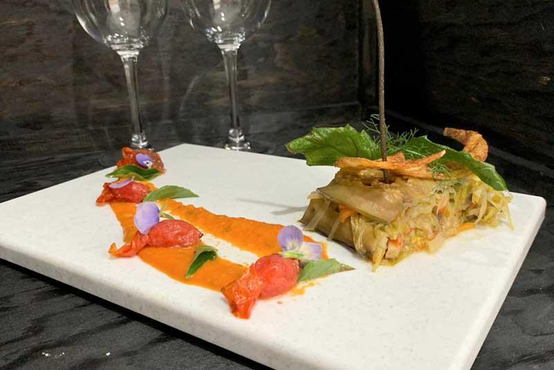 Banquetes Escoffier platillo 10