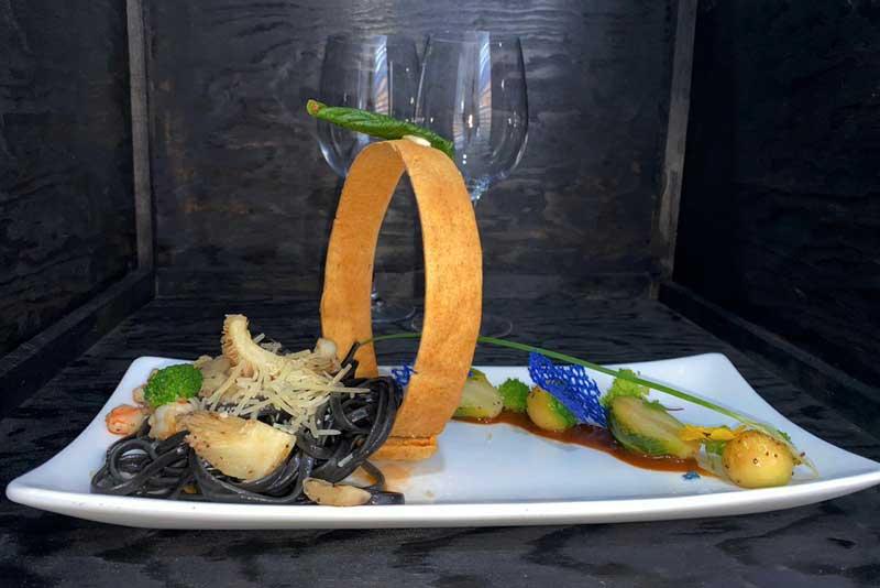 Banquetes Escoffier platillo 9