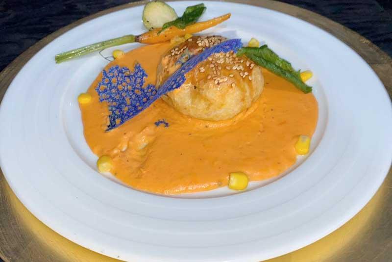 Banquetes Escoffier platillo 8