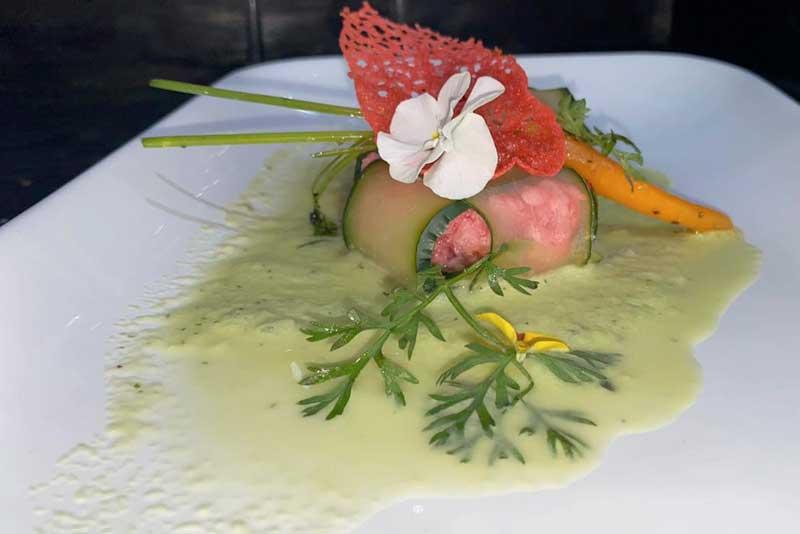 Banquetes Escoffier platillo 7